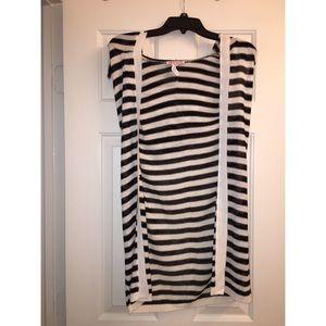 Striped Knit Jacket (Light)